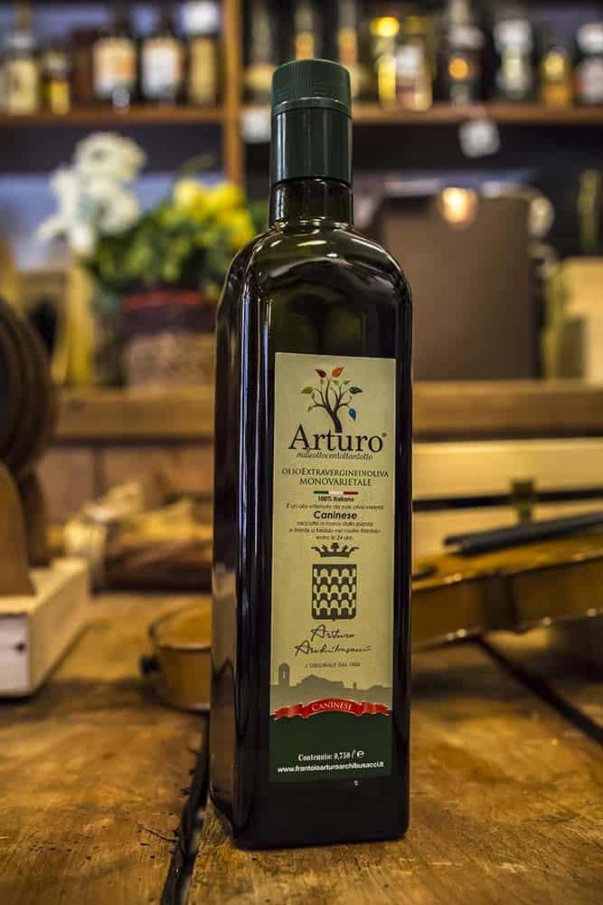 Enoteca Scaloni Olio d'oliva EVO Arturo Frantoio Archibusacci 1 Litro in vetro