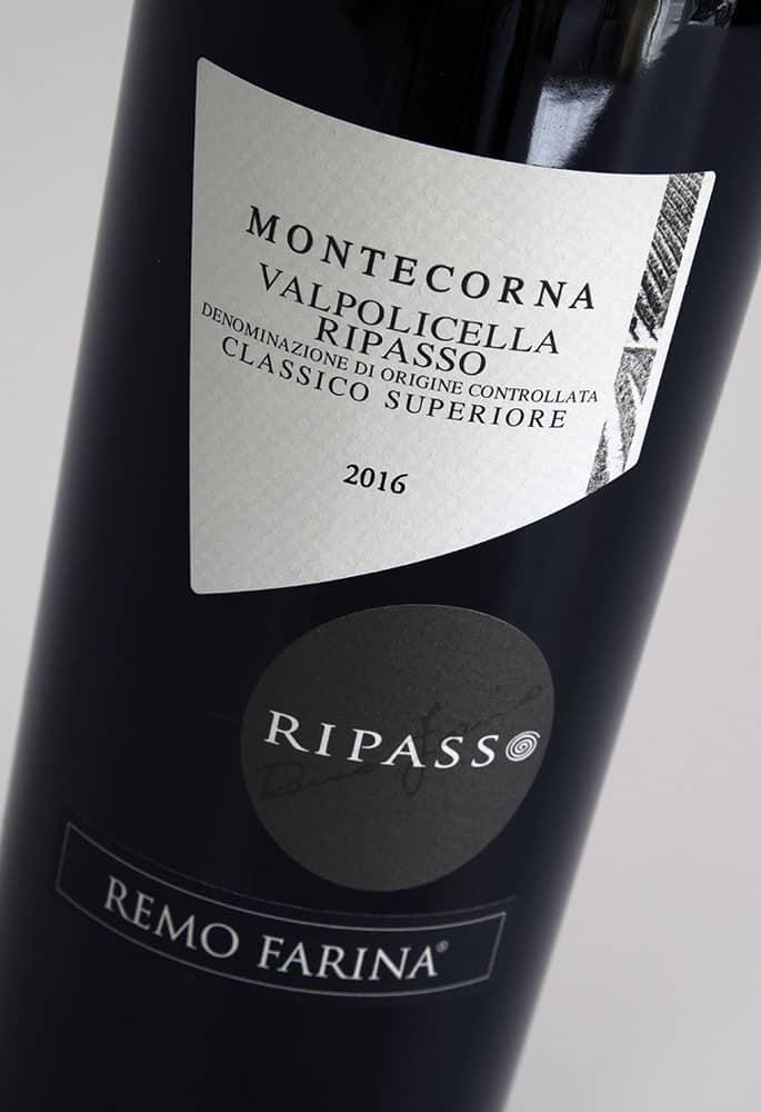 Valpolicella Ripasso 2016, Montecorna, Remo Farina
